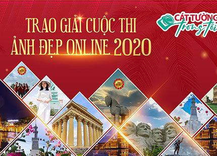 """Cát Tường Group trao giải cuộc thi ảnh đẹp Online 2020: """"Cát Tường Trong Tôi"""""""