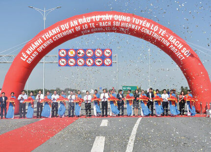 Kiên Giang: Chính thức thông xe tuyến cao tốc Lộ Tẻ – Rạch Sỏi