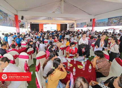 Hơn 95% sản phẩm Cát Tường Western Pearl 2 giao dịch thành công trong ngày mở bán 25/4/2021